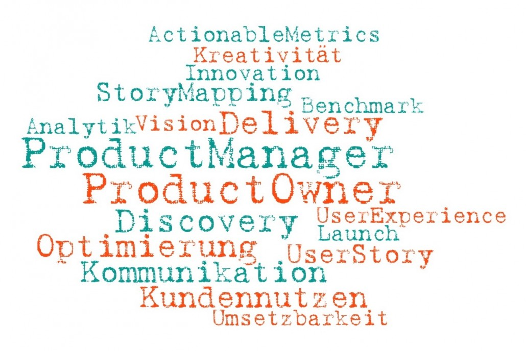 Product Manager Product Owner Word Cloud